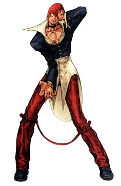 Orochi Iori (King of Fighters) - Pictures & Characters Art - Capcom vs. SNK