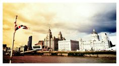 Liverpool's Three Graces From Mersey Ferry www.smartbushcraft.com Liverpool, Board, Painting, Painting Art, Paintings
