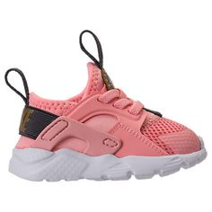 483b6df5af6d NIKE GIRLS  TODDLER AIR HUARACHE RUN ULTRA CASUAL SHOES