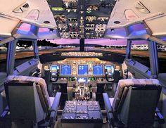 Boeing 737 flight deck