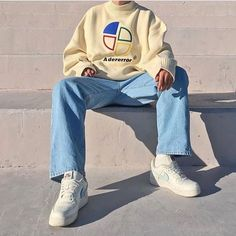 Minimal Chic 615515474062865083 - Fashion Streetwear streetculture Sneaker Basket mode homme femme Source by cosme_guillen Mode Outfits, Retro Outfits, Trendy Outfits, Vintage Outfits, Fashion Outfits, Style Fashion, Fashion Photo, Men 90s Fashion, Fasion