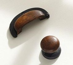 Perfect Hardware: Wood Cabinet Pulls At Pottery Barn