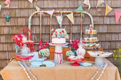 Carnival Inspired Dessert Table | Amy Atlas Events