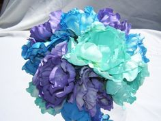 Sierra's Silk Bridesmaids Bouquets with by ArtisticFloralDesign, $45.00