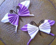 Les 7 Meilleures Images De Pliage Serviette Papillon