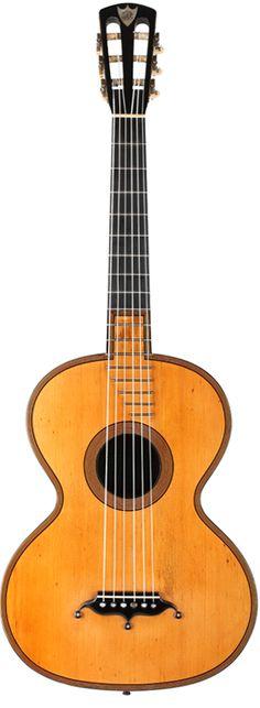 D&A Roudhloff – c. 1845 | Siccas Guitars
