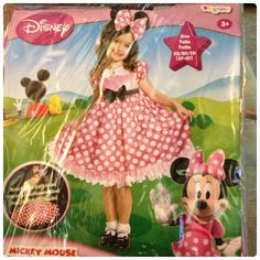Minnie Mouse Glow in the Dark Costume review! From Costume Express.
