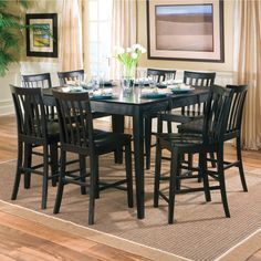 Wildon Home ® Lakeside Counter Height Dining Table & Reviews | Wayfair  The table, but not the chairs.