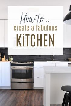 How to create the perfect kitchen design and decor for your home kitchen. You can have your dream kitchen if you plan it and imagine it. Kitchendesign #kitchendecor #kitchentrends #kitchen Kitchen Tops, Open Plan Kitchen, Kitchen Decor, Kitchen Design, Beautiful Space, Beautiful Homes, L Shaped Kitchen, Kitchen Trends, Home Hacks