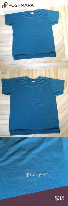 a76902df Men's vintage champion spell out t-shirt Men's vintage champion spell out t- shirt made in the USA size great used condition one flaw shown in pictures  ...