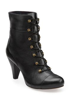 Mid Lace Boot In Black