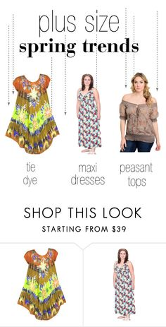 """""""Plus Size Spring Trends"""" by alight-com on Polyvore"""
