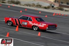 Rob Holland drove the Raybestos Brakes '64 Pontiac GTO sweepstakes car in the 2011 OUSCI