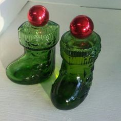 New in the shop. Avon glass Christmas stockings. Nationwide shipping.