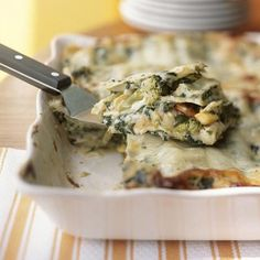 Garden Style Lasagna – great weight watcher recipe