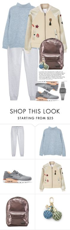 """""""Без названия #3312"""" by catelinota-a ❤ liked on Polyvore featuring McQ by Alexander McQueen, MANGO, NIKE, Lipsy, Tory Burch and Casio"""