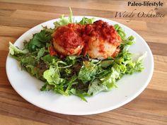 Paleo recept: Tongrolletjes uit de oven met tomatensaus