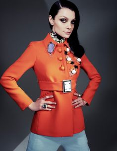 Magazine:Interview Russia, October 2012  Photographer: Steven Pan  Model: Jessica Stam  Stylist:Karen Kaiser