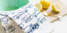 Belle & Union - great site for letterpress goods: gift wrap, note cards, dish towels, etc.