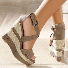 2013 Dolgu Topuk Ayakkabı Modelleri / yeni model dolgu topuklu ...