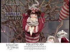 Tutorial n.5: folletto Joy | Le Pigottine di Vanda Summer Crafts, Diy And Crafts, Doll Videos, Sewing Dolls, Doll Tutorial, Doll Head, Handmade Design, Softies, Doll Toys