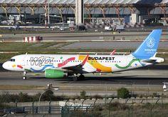 https://flic.kr/p/URSu9W | HA-LYG | Madrid - Barajas / Suarez, Spain APR 5th 2017 Wizz Air ( Budapest Candidate City / Olympic Games 2024 ) A320-200WL HA-LYG