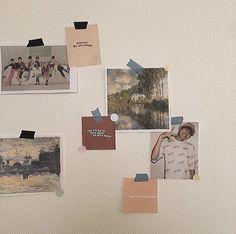 Aesthetic Room Decor, Aesthetic Art, Aesthetic Pictures, Study Room Decor, Bedroom Decor, Wall Decor, Dream Bedroom, Wall Collage, My Room