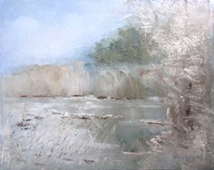 HOARFROST.  2014, Oil on canvas 40x50 cm.