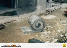 Advertising Campaign : Renault professional trucks: Can't adapt everything 3