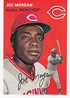 2012 Topps Archives Card #31 JOE MORGAN 1954 Design Cincinatti Reds Hall of Fame