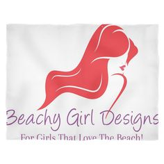 Beachy Girl Designs Blanket (Small)