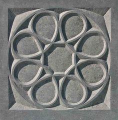 Stone Rose IV, 2008, limestone