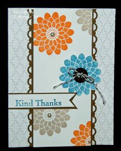 Kind Thanks CAS by 3boymom - Cards and Paper Crafts at Splitcoaststampers