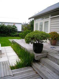 Grey Lynn Garden Design, Rear Garden Garden Projects, Garden Ideas, Front Fence, Small Garden Design, Plan Design, Gardening, Planting, Exterior Colors, Garden Planning