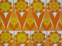 "modflowers: Heals ""Flowershop"" vintage fabric"