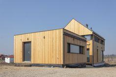 Projekty rodinných domů Vesper Homes Modern Minimalist, Shed, Exterior, Outdoor Structures, Industrial, House, Boutique, Top Coat, Houses