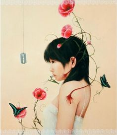 Paintings by Ai Shinohara | Cuded