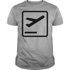 832fb0c2f Departures Pictogram. PictogramAangepaste ShirtsTweed. Shop Departures  Pictogram T Shirt custom ...