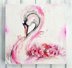 Swan Canvas