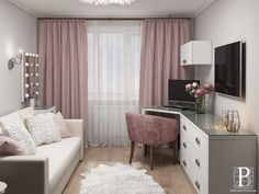 Bedroom Decor For Teen Girls, Small Room Bedroom, Bedroom Bed Design, Room Decor Bedroom, Bedroom Cupboard Designs, Living Room Designs, Living Room Wall Units, Small House Interior Design, Living Room Entertainment Center