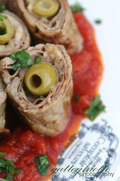 Involtini gustosi su letto di pomodoro italiano – IlGattoGhiotto.it