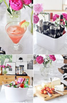 Watermelon-Cucumber Cocktail: summer up: bringing the summer picnic inside. / sfgirlbybay