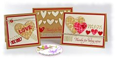 Stampin Up Love you to the Moon Stamp Set, card by Sandi @ www.stampingwithsandi.com