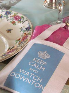 Downton Abbey party :)