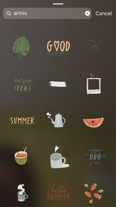 Instagram Emoji, Iphone Instagram, Instagram And Snapchat, Insta Instagram, Instagram Feed Planner, Instagram Editing Apps, Creative Instagram Photo Ideas, Instagram Story Ideas, Stickers