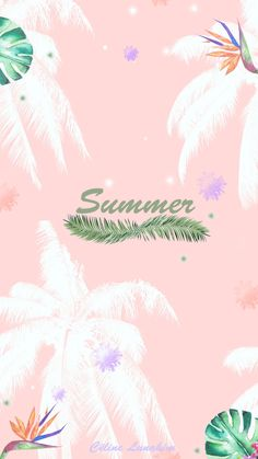 Pinky Wallpaper, Love Wallpaper Backgrounds, Pink Wallpaper Iphone, Cute Patterns Wallpaper, Cellphone Wallpaper, Photo Wallpaper, Cute Summer Wallpapers, Cute Wallpapers, Summer Backrounds