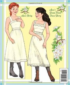 ann miller paper doll | Anne of Green Gables Paper Doll Book: Eileen Rudisill Miller, Sandy ...