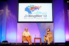 Martha and a sparkly unicorn: My thoughts on my very first BlogHer conference.