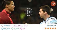 Cristiano Ronaldo Vs Lionel Messi: Respect Moments