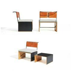 SMALL ARMCHAIRS- SMALL TABLE  by Mr. Alberto Salvati and Mr. Ambrogio Tresoldi